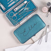 Personalised Manicure Set - Emerald