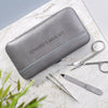 Personalised Manicure Kit - grey