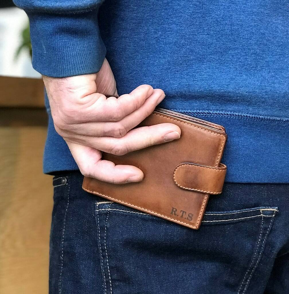 Leather Wallet - cards & coins
