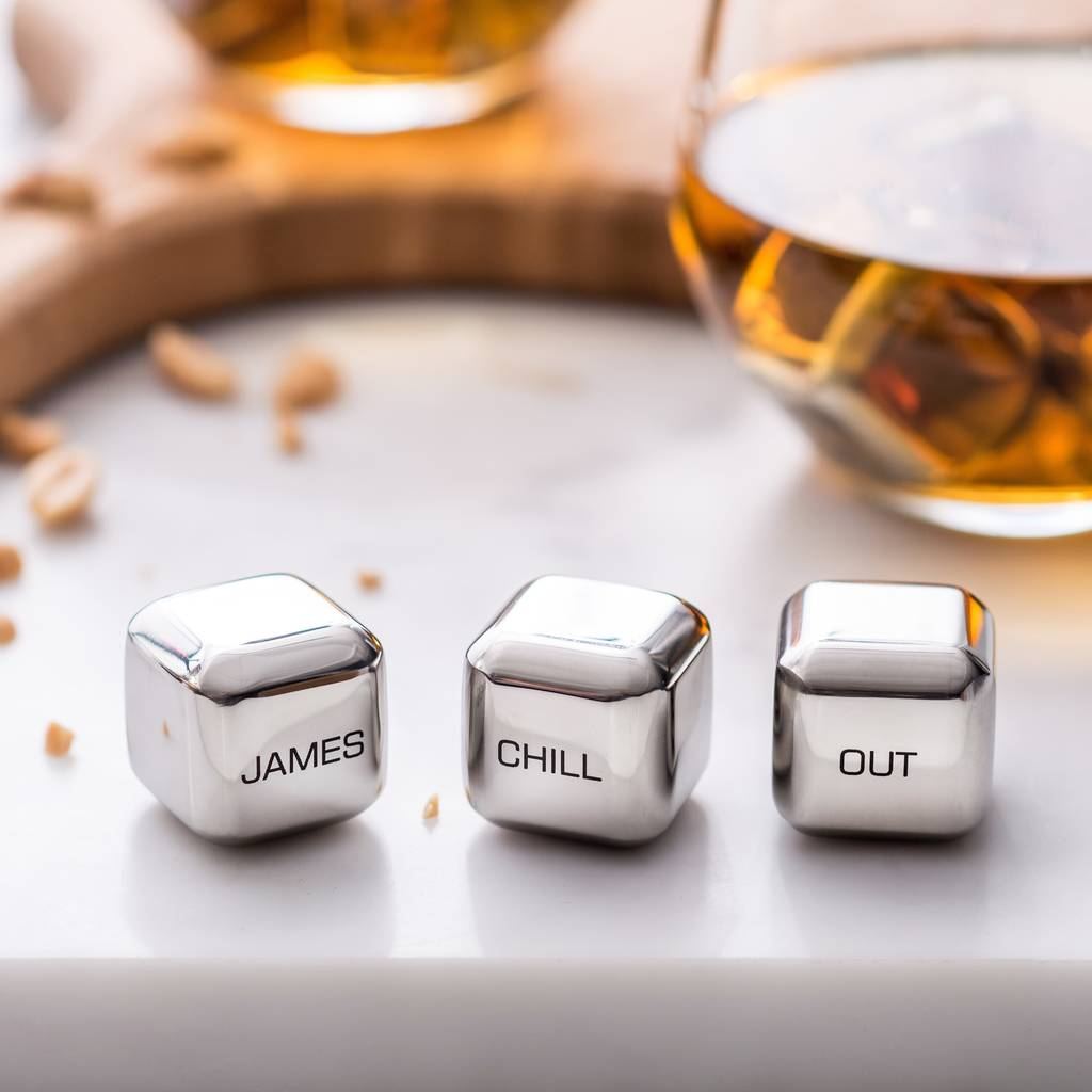 'Chill Out' Stainless Steel Ice Cubes