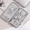 Personalised Manicure Set - Silver Pearl