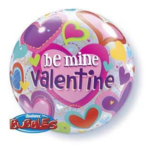 Be My Valentine Bubble