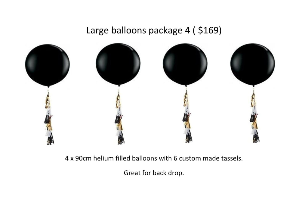 Large balloons package 4