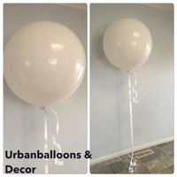 Large 3 feet  or 90cm balloons.