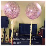 3 feet balloon with tassel