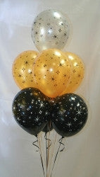 7 Nested Printed Balloon Bouquet
