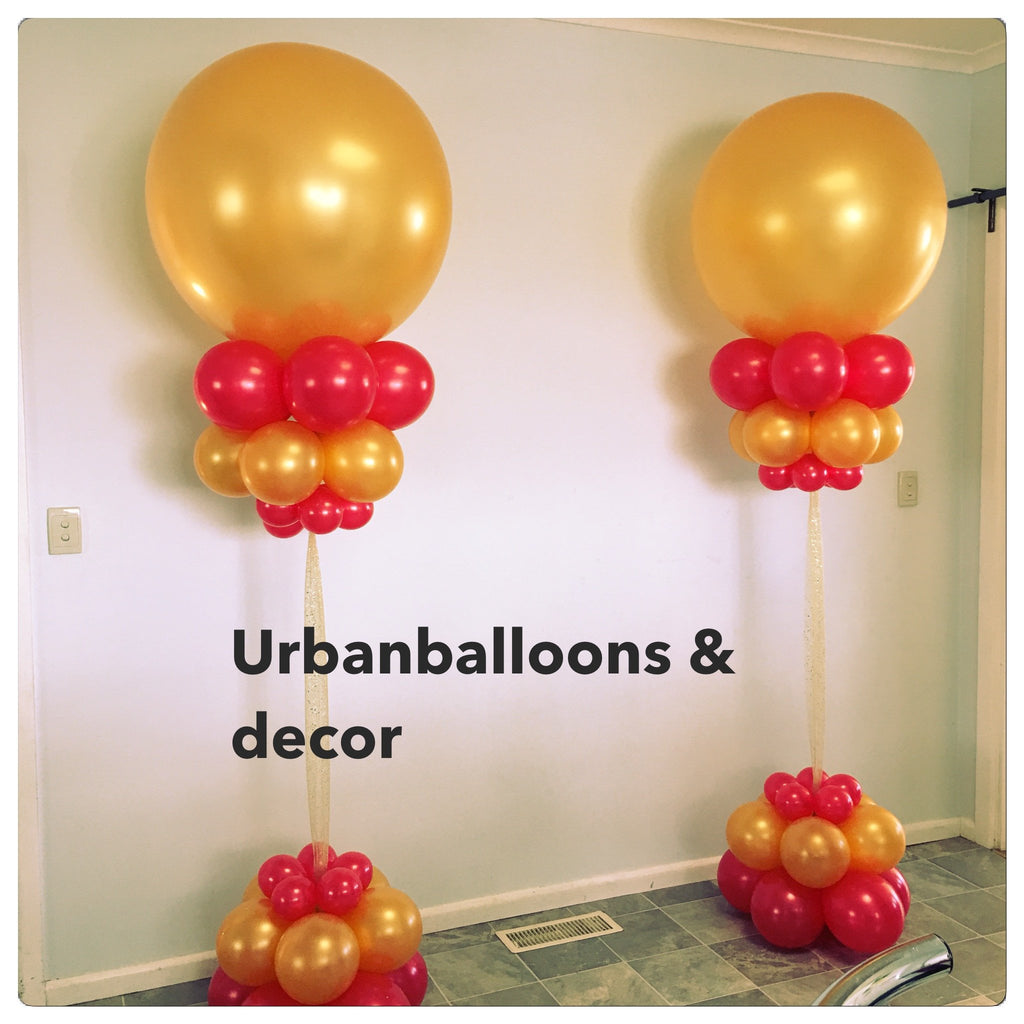 Mega balloons floor Decor
