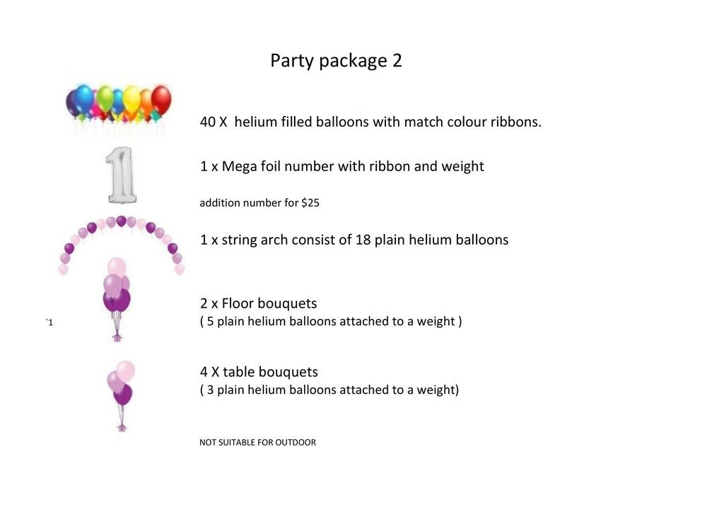 Party package 2