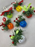Pickleball Mistletoe... Christmas Pickleball decor...