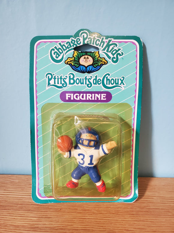 Cabbage Patch Kids Figurine on card