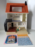 Vintage 1978 Fisher Price Doll House, COMPLETE in Box