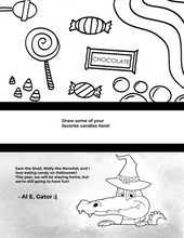 Load image into Gallery viewer, FREE Halloween Coloring Pages!!