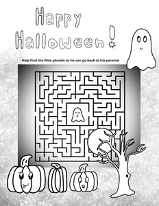 FREE Halloween Coloring Pages!!