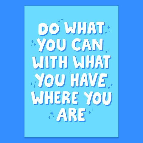 do what you can print by jushmu