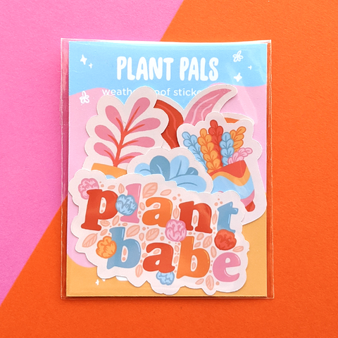 plant pals sticker pack by jushmu