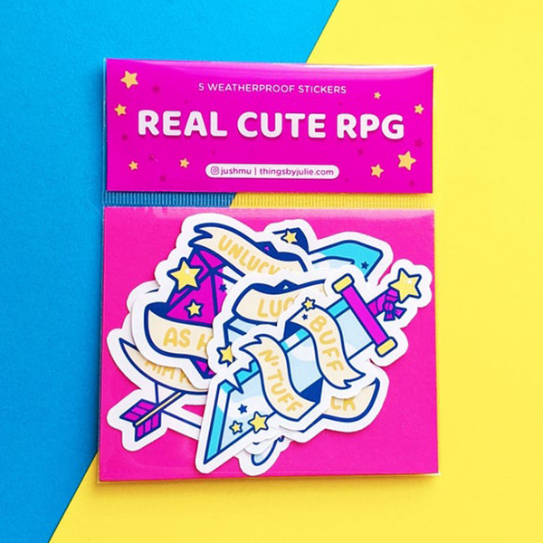 real cute rpg sticker pack by jushmu