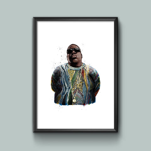 Notorious B.I.G. / Art Print