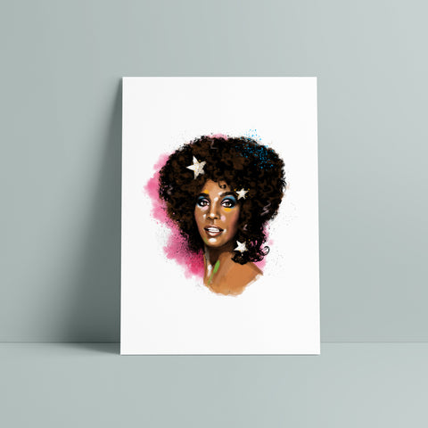 Whitney Houston / Art Print