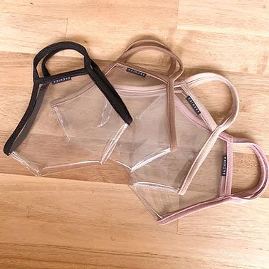 "The ""Reveal"" Bundle of 4 colors - 100% Transparent Clear Mask by SACHIKA - SACHIKA® - Official Site"
