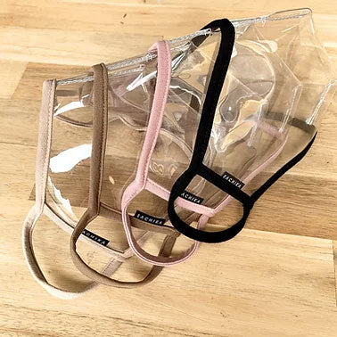 "The Ultimate ""Reveal"" Bundle of 4 colors - 100% Transparent Clear Mask by SACHIKA - SACHIKA® - Official Site"
