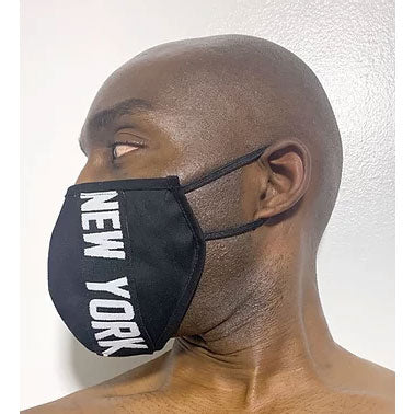 "100% Cotton 2-Layer ""New York"" Face Mask - SACHIKA® - Official Site"