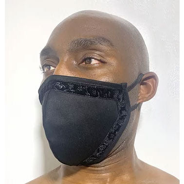100% Cotton 2-Layer with Velvet trim Face Mask - SACHIKA® - Official Site