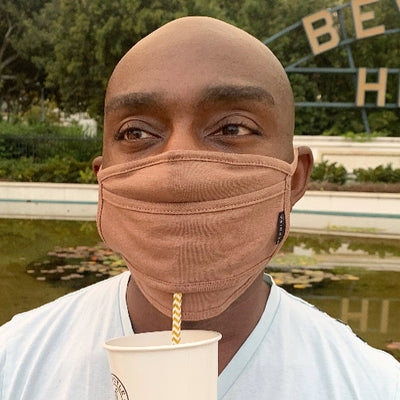 Refresh Mask -Straw Mask Drinking Face Mask with Straw Hole Washable Unisex  by SACHIKA - SACHIKA® - Official Site