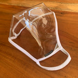 NEW! The Reveal 100% Clear Mask Bridal Edition Color White Trim - SACHIKA® - Official Site