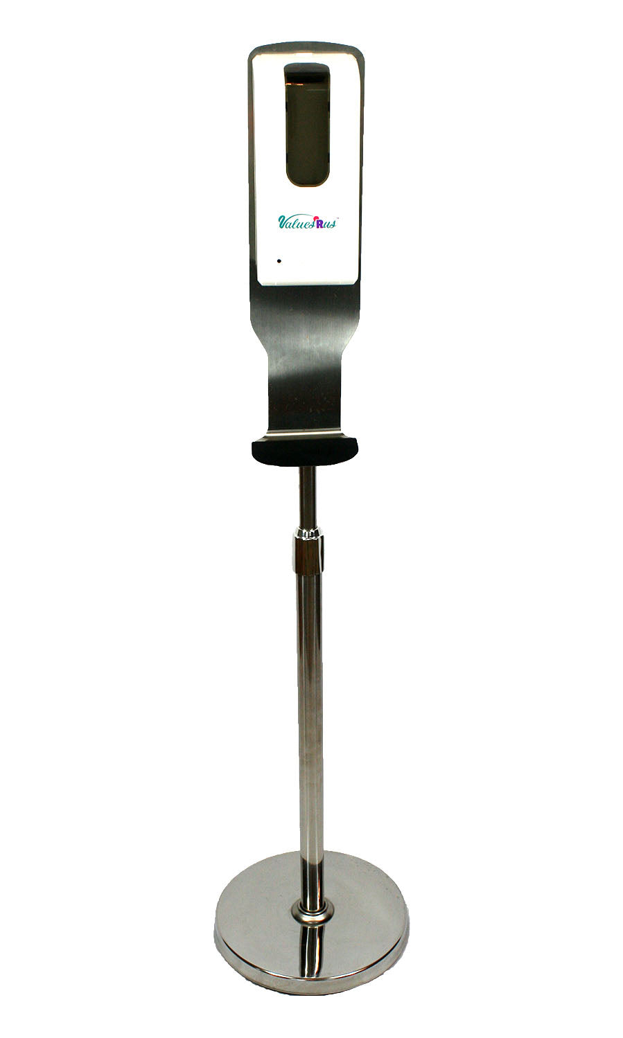 ValuesRus Stainless Steel Floor Stand for Non Contact Hand Sanitizing Dispensers