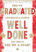 Load image into Gallery viewer, You've Graduated Congratulations - Graduation Card