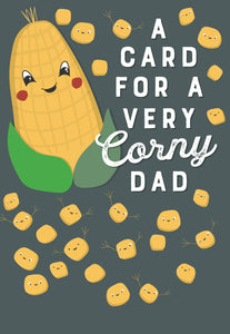 Corny Dad - Father's Day Card
