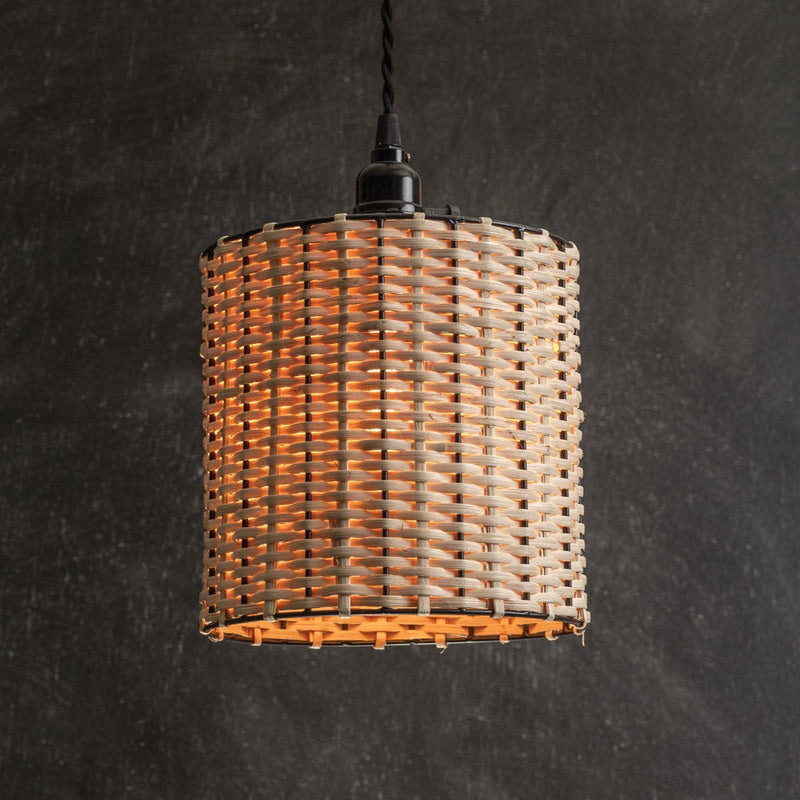 Drum Pendant Light-Farmhouse Decor-Kitchen Light-Library Light