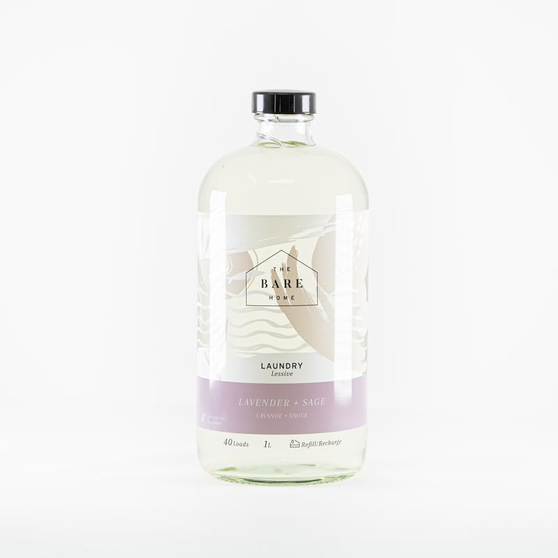 The Bare Home Laundry Detergent - Lavender + Sage