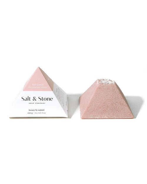 Salt & Stone Rose Quartz Sea Salt Soap