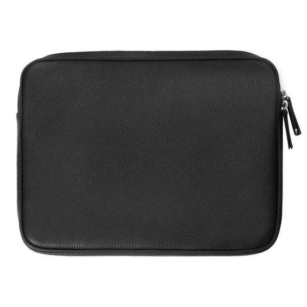 "Leather 12"" iPad Case - Black"