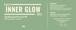 NEW! Inner Glow Clarifying Tea Tree Face Oil- 2oz