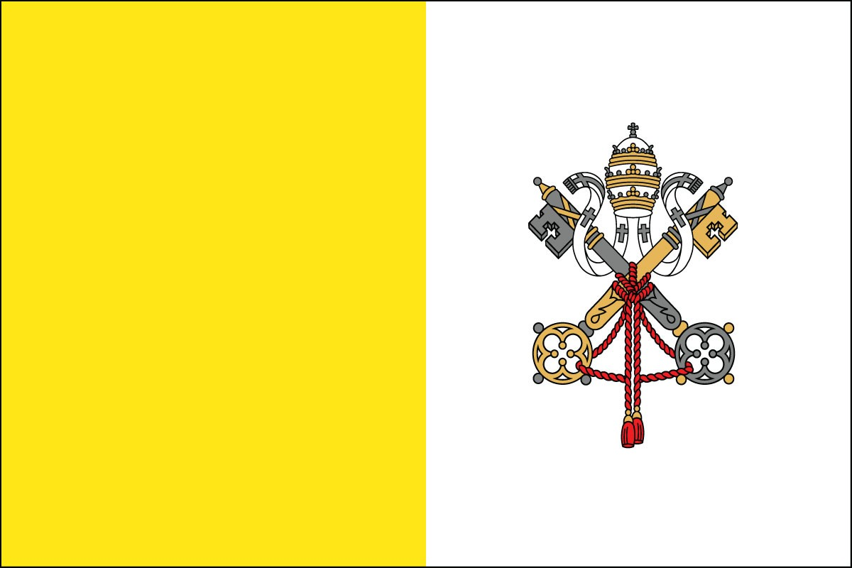 Vatican City (Papal) Flags