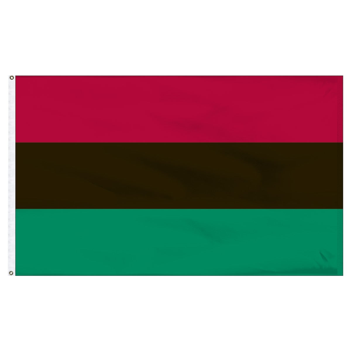 African American 2X3 Feet Outdoor Nylon Flag