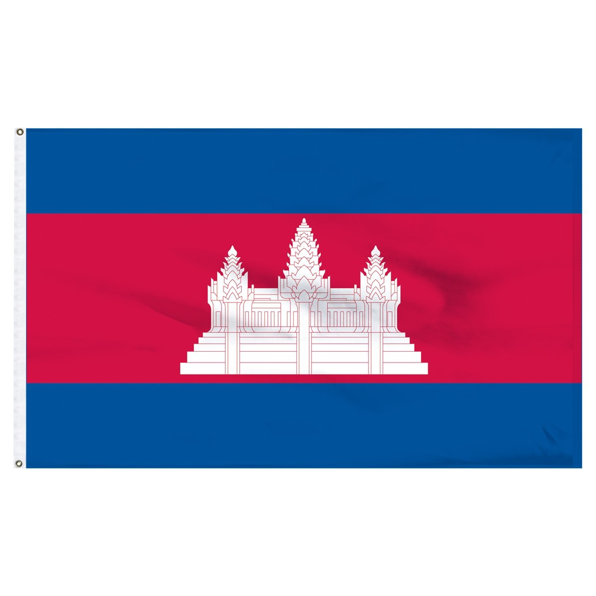 Cambodia 2ft x 3ft High Quality Outdoor Nylon Flag