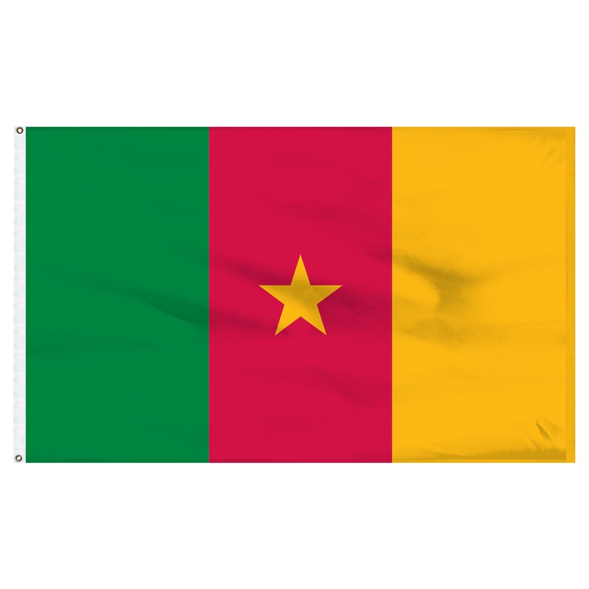 Cameroon 2ft x 3ft  High Quality Outdoor Nylon Flag