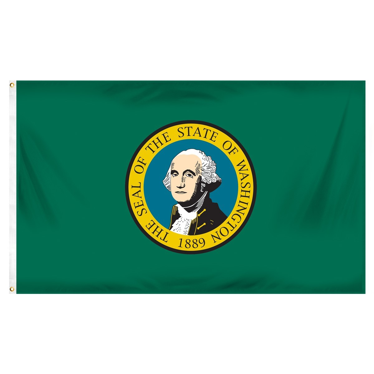 Washington  3' x 5' Indoor Polyester Flag