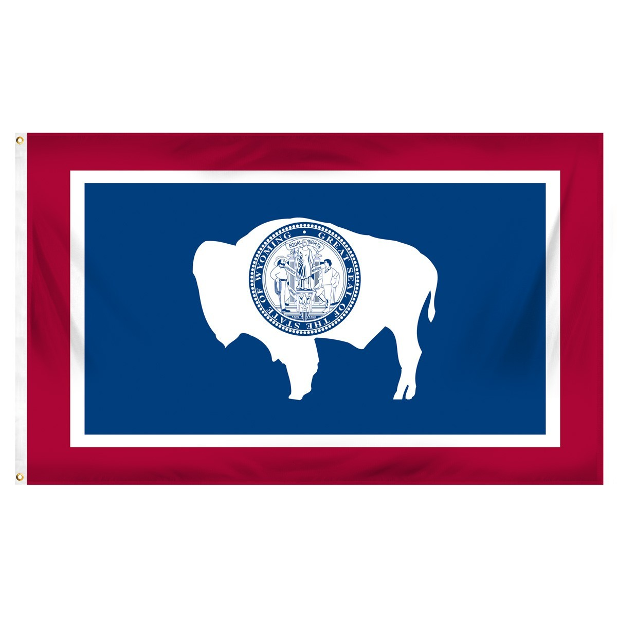 Wyoming  3' x 5' Indoor Polyester Flag