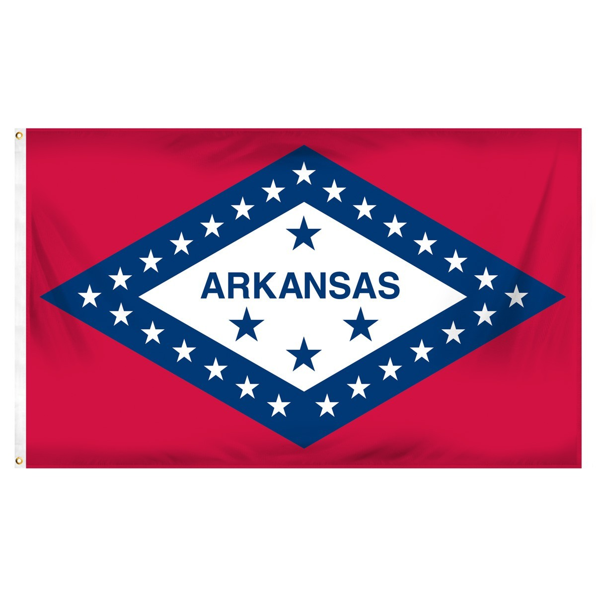 Arkansas  2' x 3' Indoor Polyester State Flag