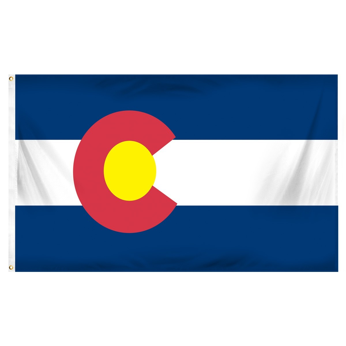 Colorado  2' x 3' Indoor Polyester Flag
