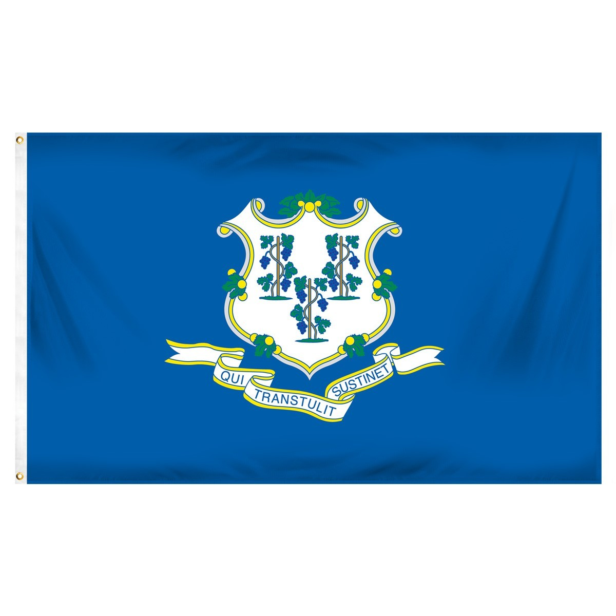 Connecticut  2' x 3' Indoor Polyester Flag