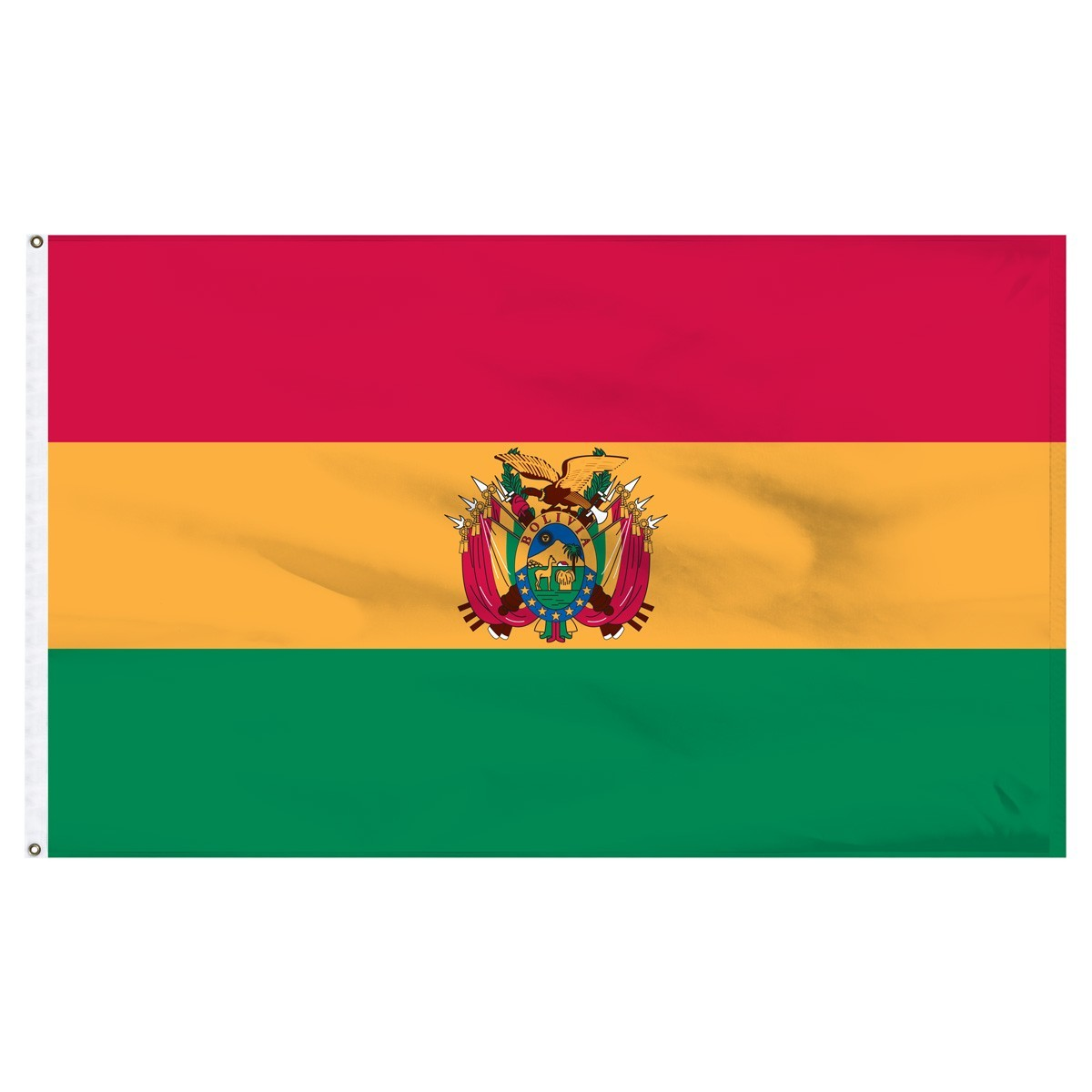 Bolivia 3ft x 5ft High Quality Outdoor Nylon Flag