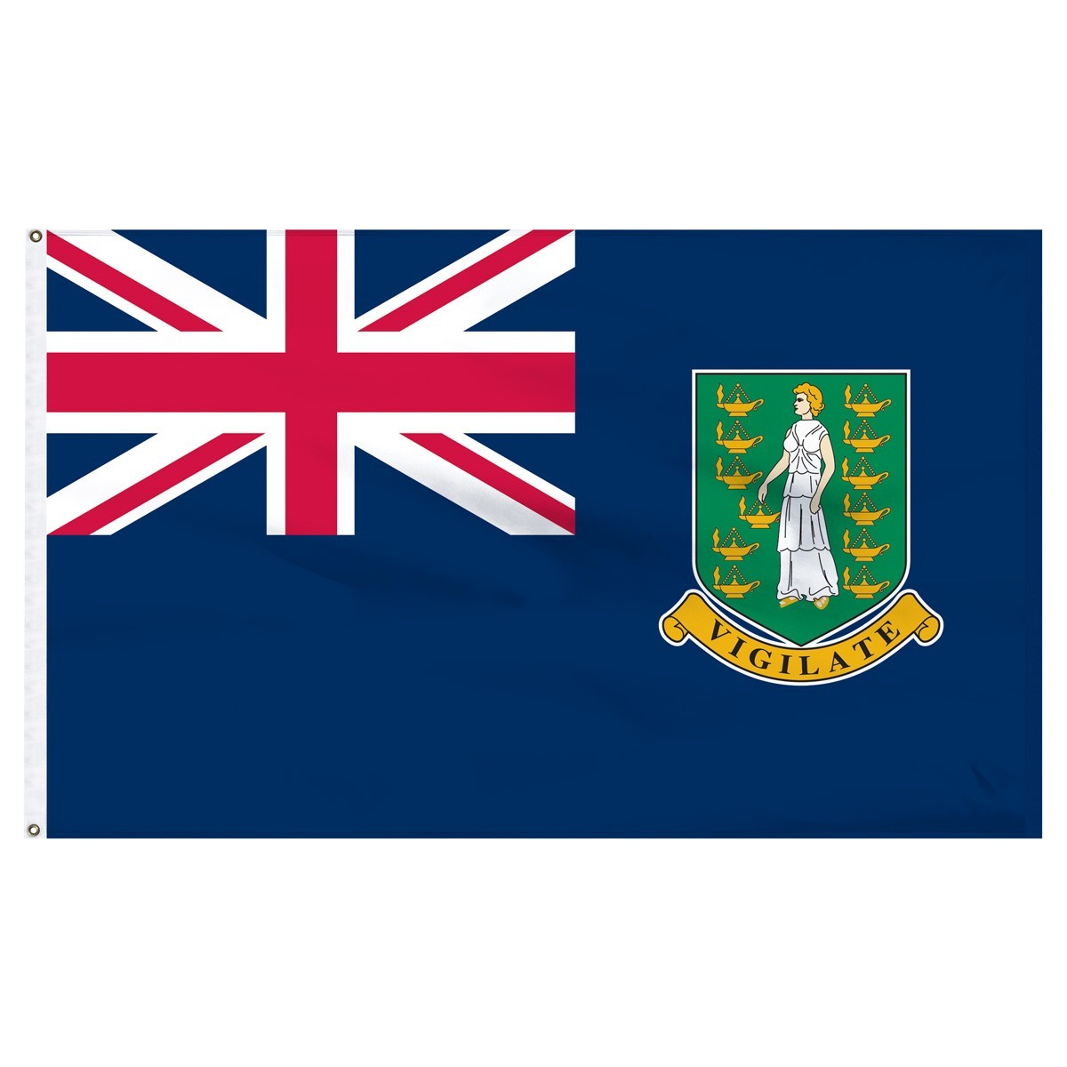 British Virgin Islands 3' x 5' Outdoor Nylon Flag