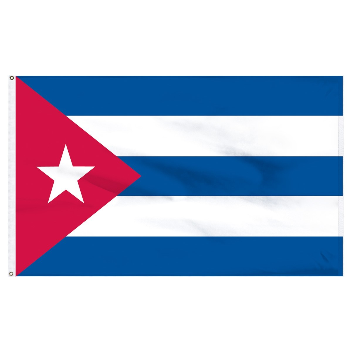 Cuba 3' x 5' High Quality Outdoor Nylon Flag