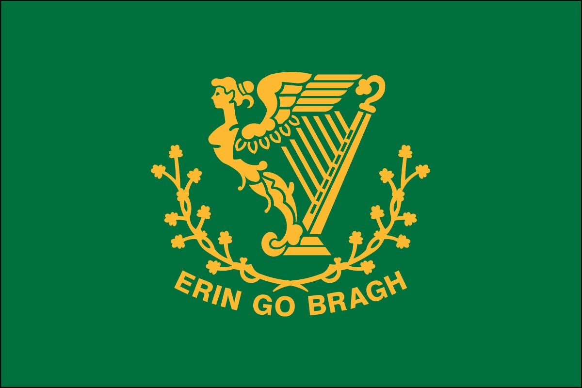 Erin Go Bragh 3' x 5' Outdoor Nylon Flag