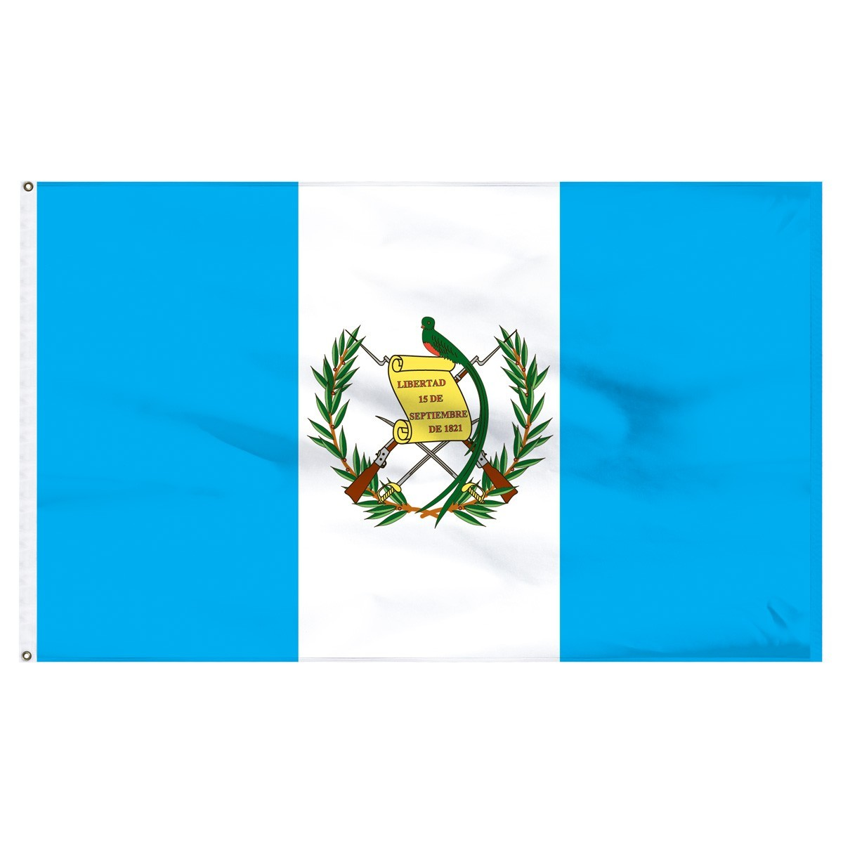 Guatemala 3' x 5' High Quality Outdoor Nylon Flag